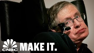 Stephen Hawking Has Died At The Age Of 76 | CNBC Make It.