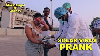 SOLAR VIRUS PRANK With Mark Angel And Zfancy Mark Angel Comedy