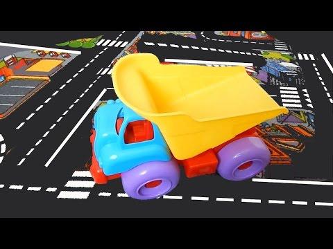 Развивающее видео для детей. Грузовичок. Транспорт - паззлы и игрушки для детей