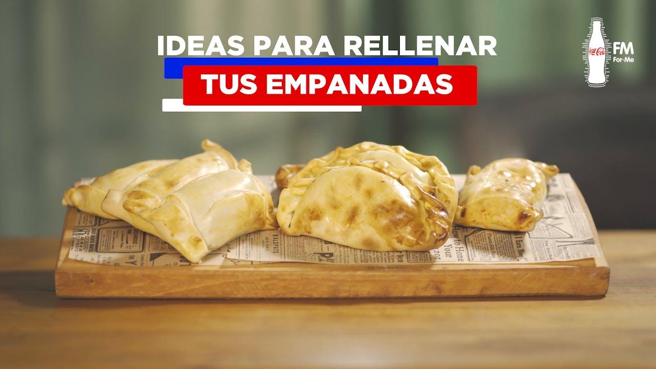 Fonda en casa: ¡Ideas para rellenar tu empanada!