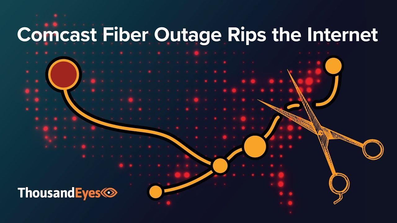 Comcast Fiber Outage Rips the Internet