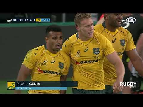 All Blacks break Wallaby hearts in Dunedin