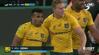 All Blacks break Wallaby hearts in Dunedin