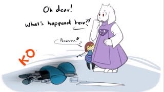 Download Toriel isn't particularly happy with Frisk! (Undertale Comic Dub Compilation) Mp3 and Videos