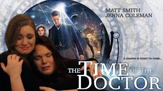 DOCTOR WHO - THE TIME OF THE DOCTOR - DRUNK REACTION VIDEO
