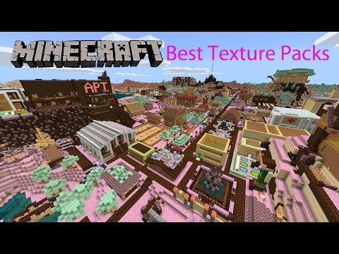 Top 10 Best Minecraft Texture Packs Bedrock Store (2018)
