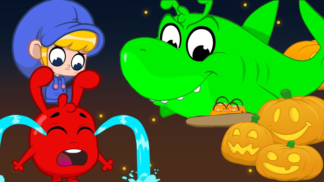 Orphle Steals Mila and Morphle's Halloween Candy | + More Cartoons For Kids | Morphle and Orphle