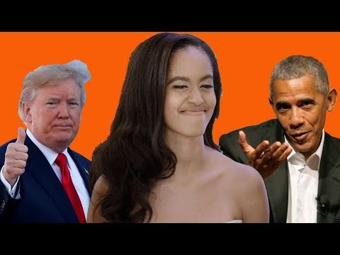 Did Malia Obama really say Trump's a better President?