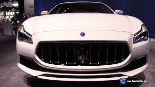 2018 Maserati Quattroporte GranLusso - Exterior and Interior Walkaround - 2018 Chicago Auto Show