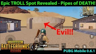 Epic Miramar TROLL Spot Revealed - Get Friends / Enemies STUCK here | PUBG Mobile 0.6.1