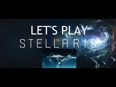 Let's Play Stellaris - The Federation Of Planets - Star Trek #1