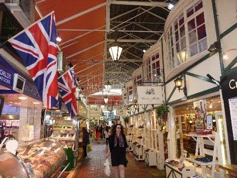 ✈🇬🇧 Explore the Oxford Market, UK  英格兰牛津最古老的带顶棚市场