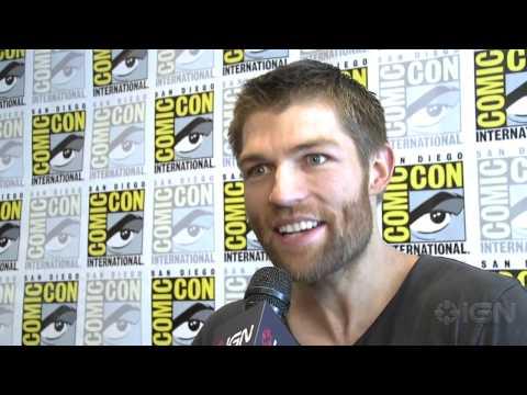 Spartacus: Liam McIntyre Interview - Comic-Con 2012