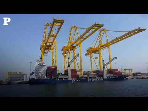 Hamad port becomes fully operational