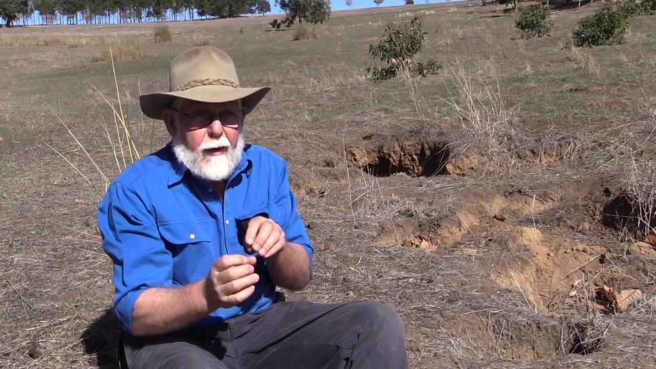 Tunnel erosion in South West Western Australia
