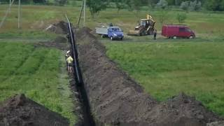 Прокол ГНБ под железной дорогой
