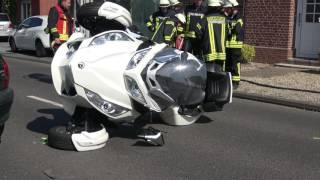 Heinsberg Karken  -  Unfall mit Trike