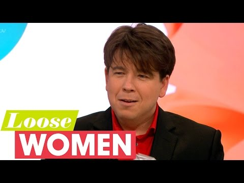 Michael McIntyre Isn't Impressed With His Loose Women Gift   Loose Women