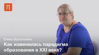 Компетентностный подход в системе образования — Елена Брызгалина