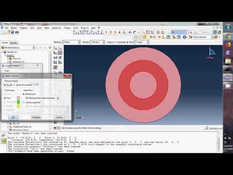 Impact on Concrete(Damage Plasticity Model) - YouTube