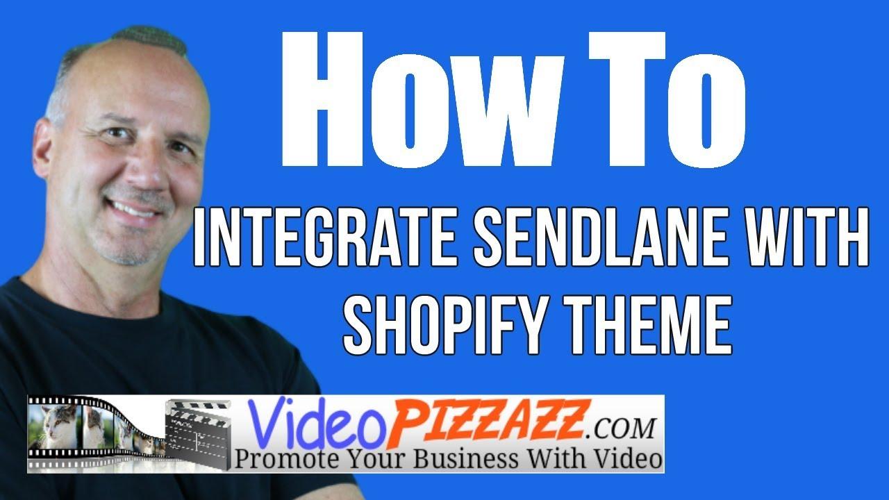 Integrate Sendlane with Shopify Theme - cheapest email marketing service -  sendlane review