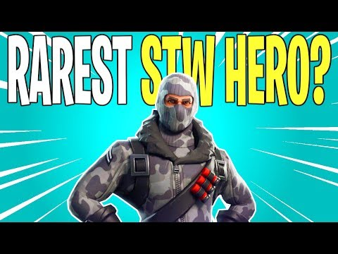 ONE OF THE RAREST HEROES IN STW! Rescue Trooper Havoc Twitch Exclusive | Fortnite Save The World