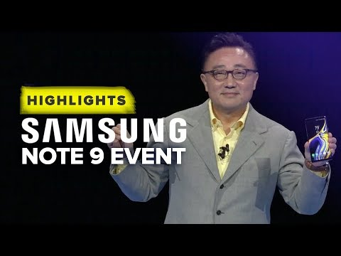Samsungs Note 9 Unpacked event highlights in 10 minutes