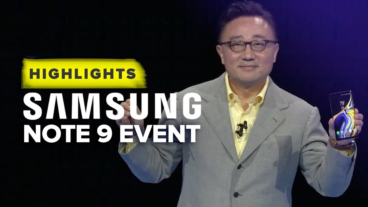 This is the Samsung Galaxy Note 9