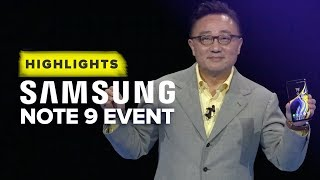 Samsung\'s Note 9 Unpacked event highlights in 10 minutes