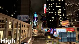 Amazing Spider Man 2 PC Graphics Low to Ultra