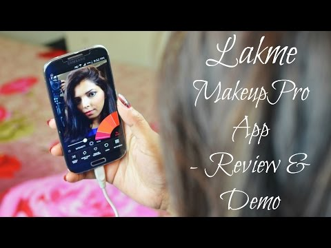 Lakme Makeup Pro App -  Review & Demo | Hina Attar