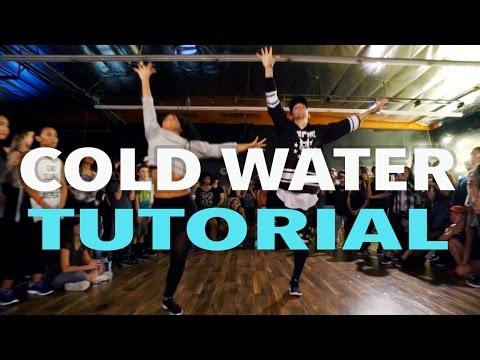 """COLD WATER"" - Major Lazer x Justin Bieber Dance TUTORIAL | @MattSteffanina Choreography"