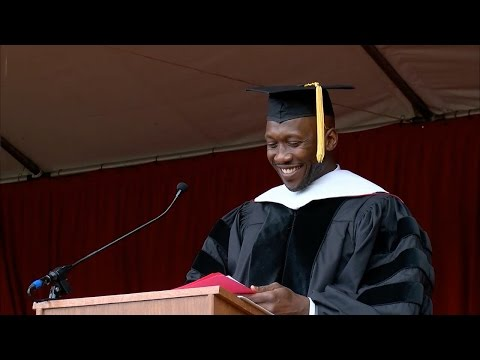 Mahershala Ali  2016 Commencement Address