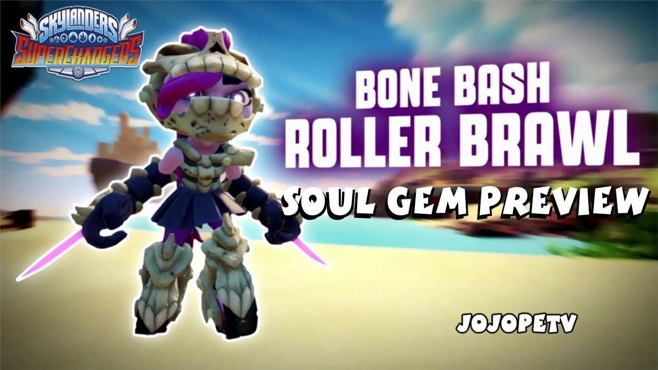 BONE BASH ROLLER BRAWL UNDEAD SKYLANDERS SUPERCHARGERS