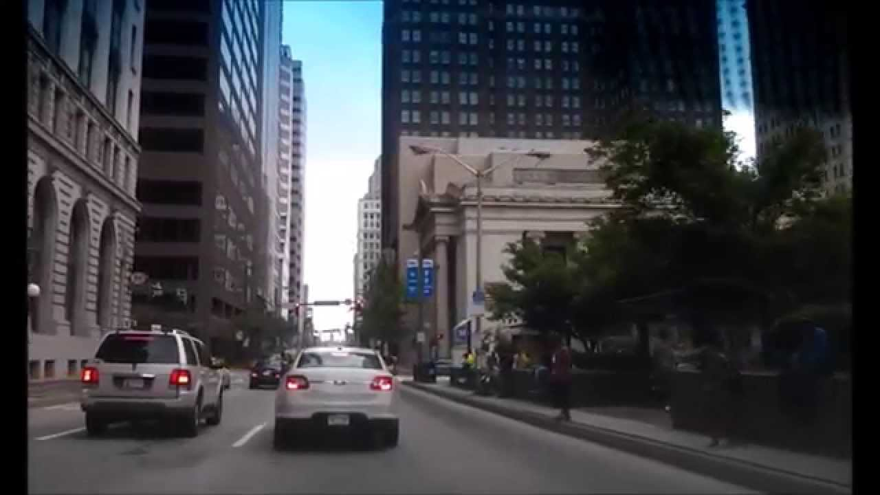Driving Downtown Baltimore St Baltimore Maryland Youtube