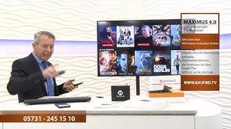 MAXIMUS 4.0 Der universale TV-Receiver