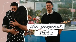 He Proposed! Engagement Details Part Two | Brian's POV | Aja Dang Brian Puspos