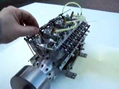 Worlds Smallest V12 Engine Youtube