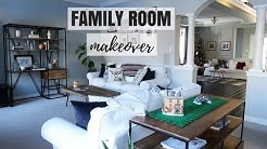 FAMILY ROOM MAKEOVER REVEAL | PART 1 | Nesting Story