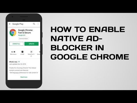 HOW TO ENABLE NATIVE AD-BLOCKER IN GOOGLE CHROME IN YOUR ANDROID DEVICE
