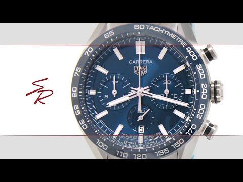 Tag Heuer Carrera Calibro Heuer 02 44mm Chrono Blue CBN2A1A.BA0643