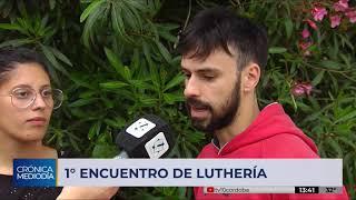 Se desarrolla el primer Encuentro de Luthería en Córdoba