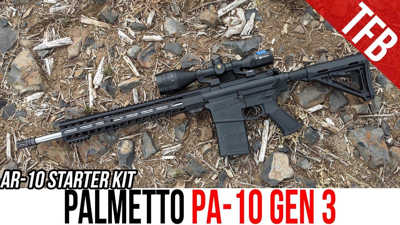 """This Cheap AR-10 Shot 1"""" Groups with Crap Ammo from 100 Yards"""