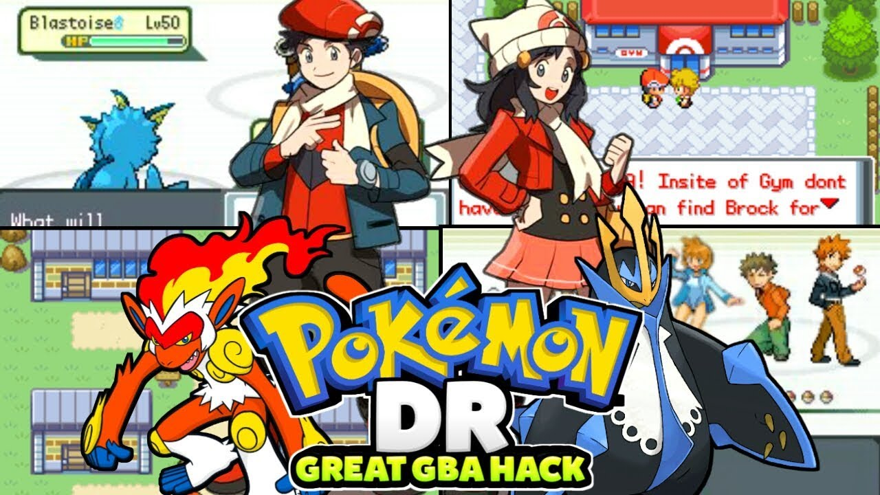 Completed Pokemon Gba Hack With NDS Sprites,New Maps,Amazing Graphics &  Much More! (2019)