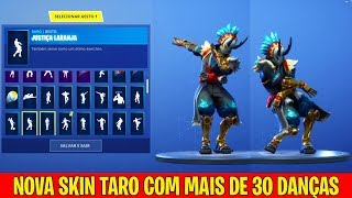 NEW TARO SKIN WITH MORE THAN 30 DANCES-FORTNITE BATTLE ROYALE