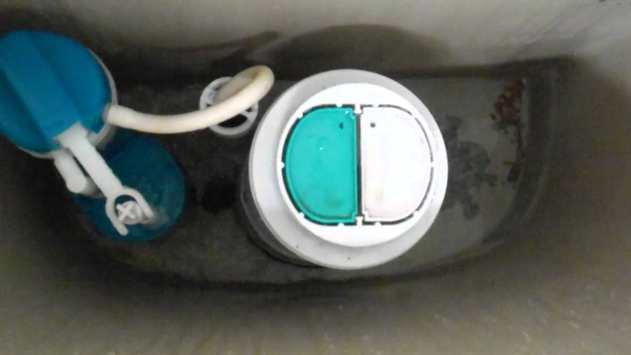 4104 Dual Flush Glacier Bay Two Piece Toilet Tank Youtube