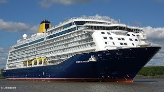 SPIRIT OF DISCOVERY | the spectacular big ship launch / highlights float out | 4K-Quality-Video