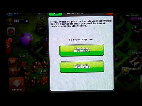 How to link clash of clan accounts