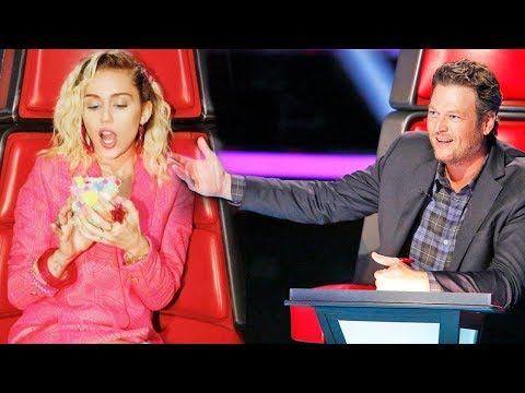 Miley Cyrus TROLLS Blake Shelton Over 'Sexiest Man Alive' Title
