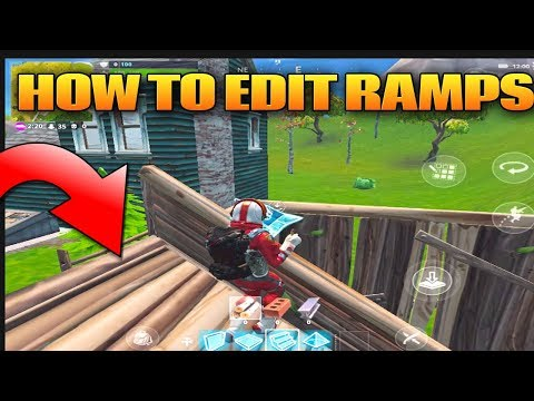 Fortnite Mobile: How To Build And Edit Ramps Fortnite Mobile Tips And Tricks